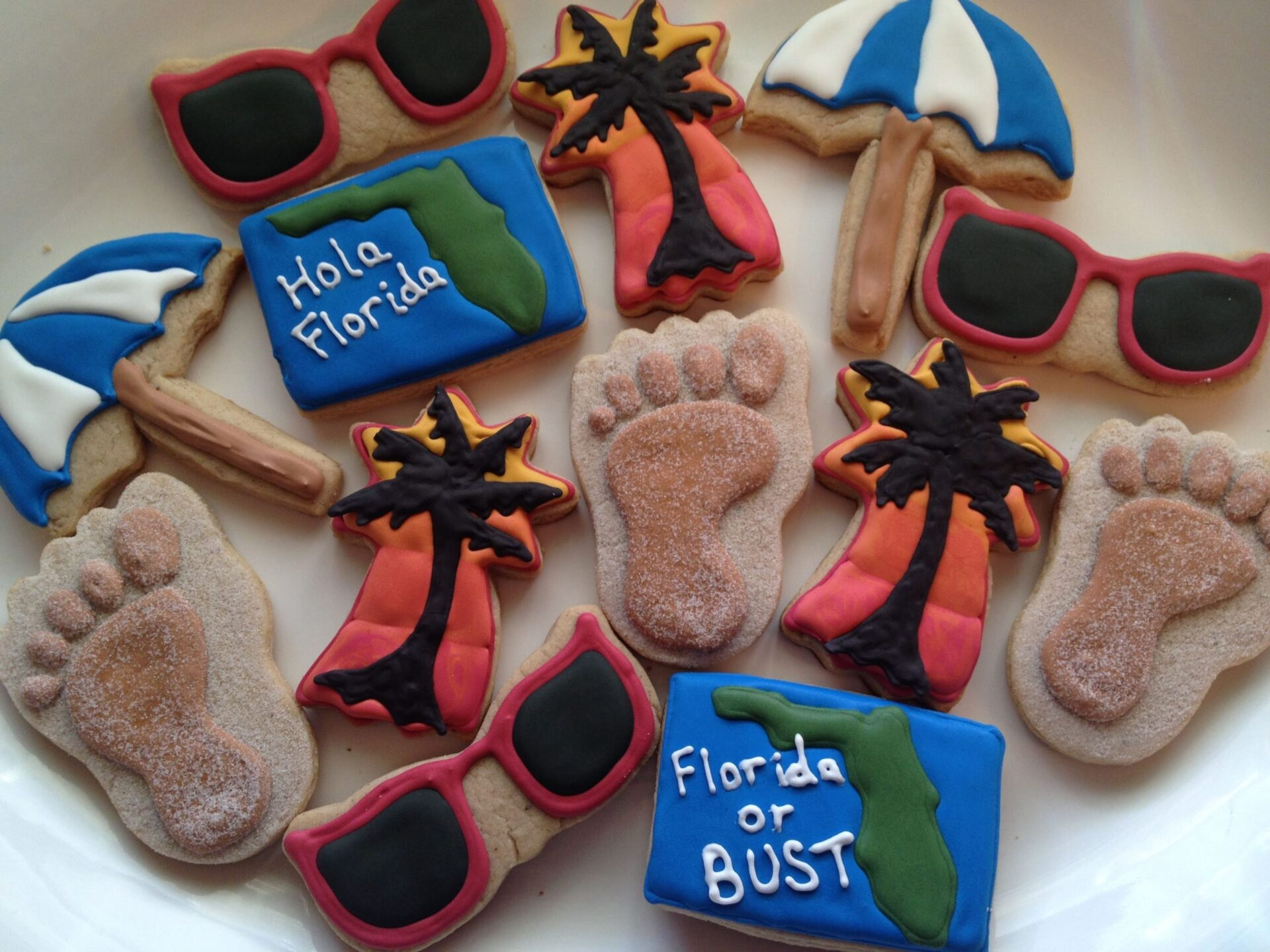 Florida sugar cookies royal icing