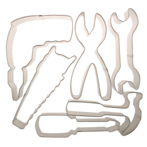 power tool cookie cutters